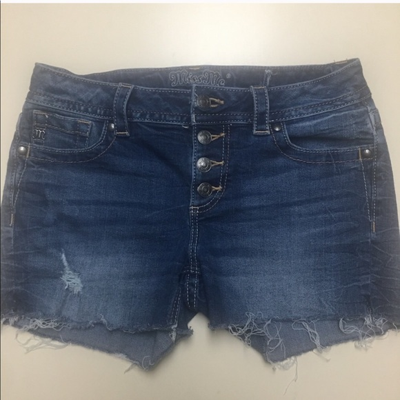 Miss Me Pants - MISS ME SIZE 30 CUT OFF JEAN SHORTS.